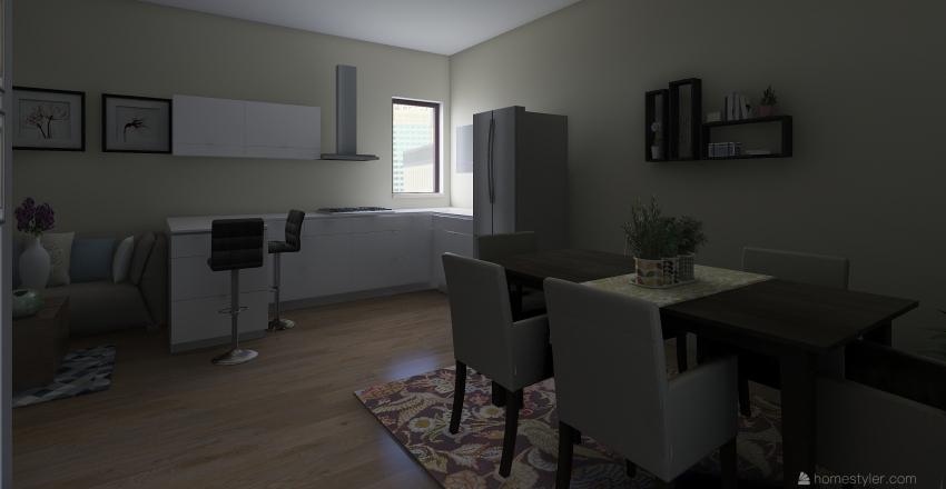 sanzio cucina Interior Design Render