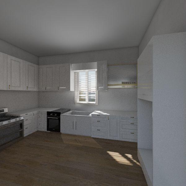 kitshin Interior Design Render
