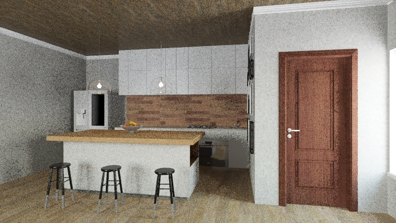 Tiny House Project Interior Design Render