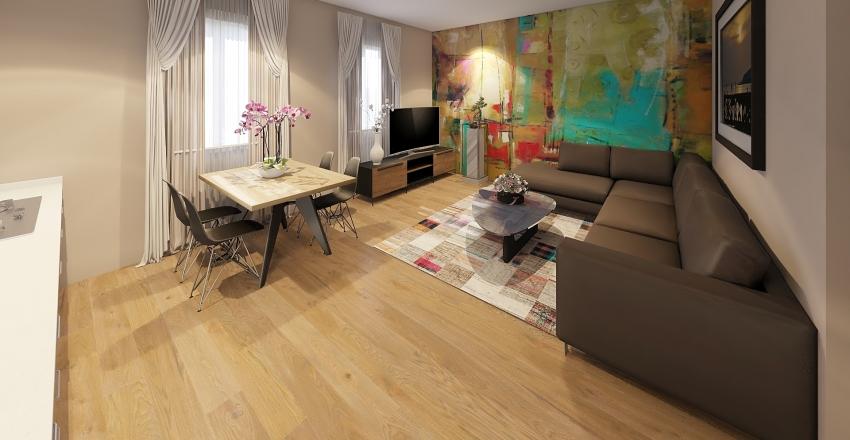 Gina átalakítás Interior Design Render