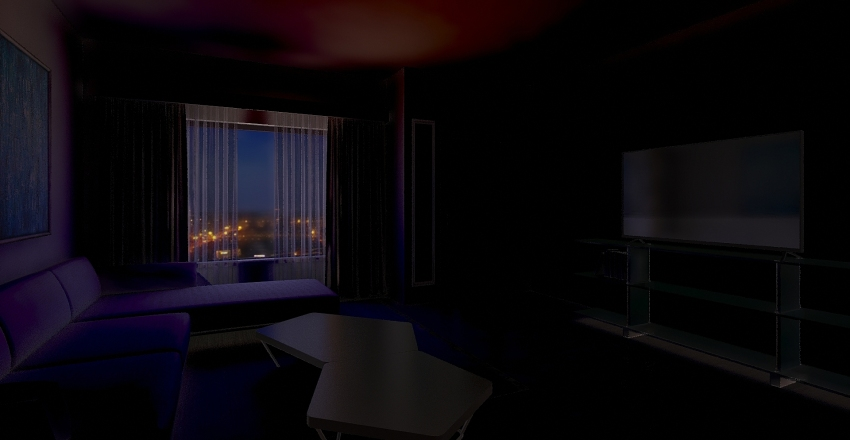 Caso0na 2 pisones Interior Design Render