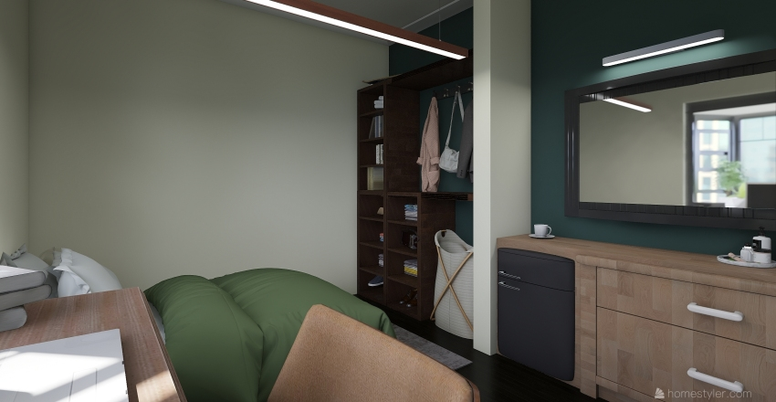 Dream dorm room  Interior Design Render