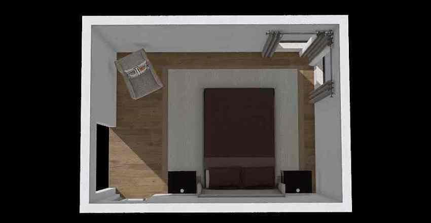 2nd bedroom Interior Design Render