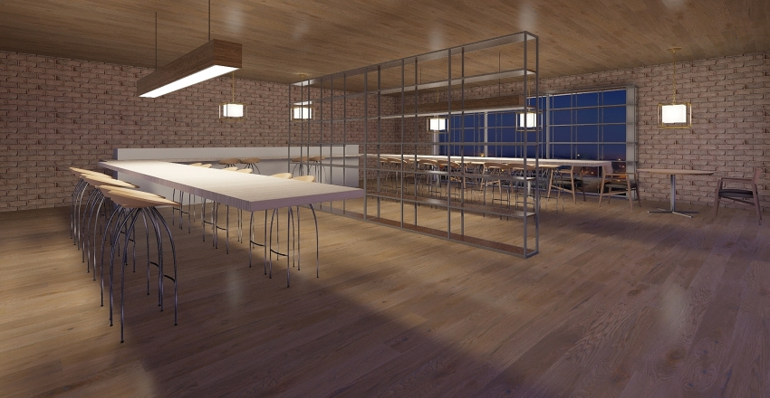 Winery Interior Design Render