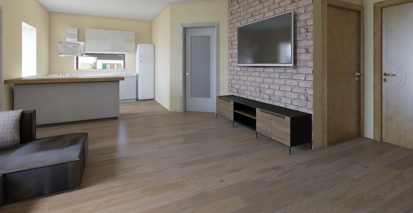 valós méret Interior Design Render