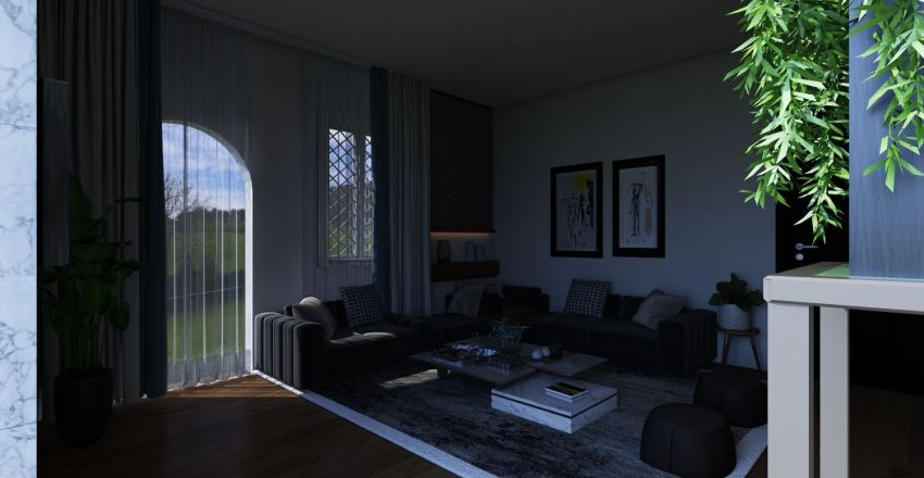 livving Interior Design Render
