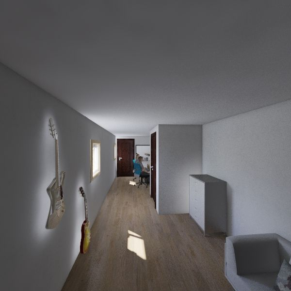 Studie Interior Design Render