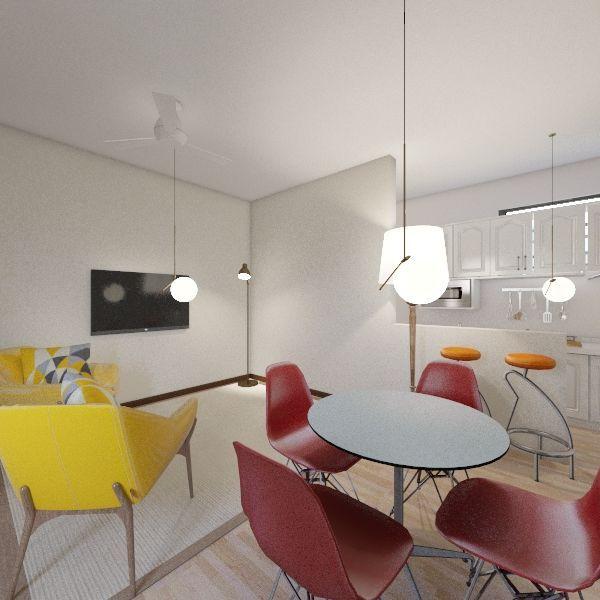 Sala 5 Interior Design Render
