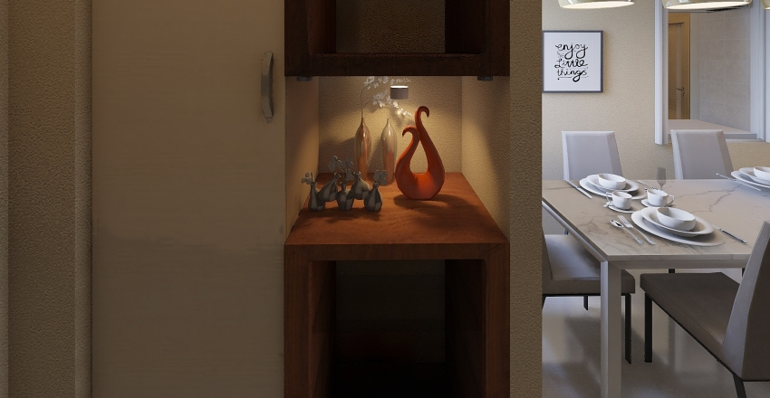 D2 Altar Balcony Interior Design Render