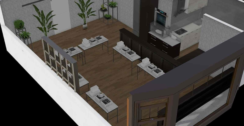 gallery  Interior Design Render