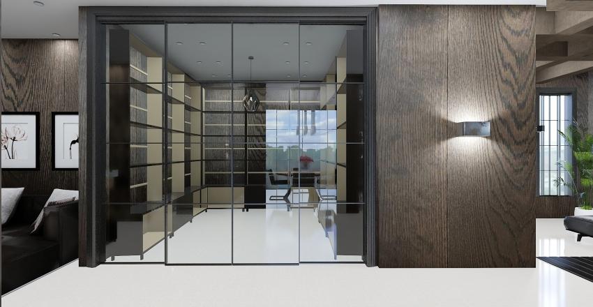 Luxury Suite Interior Design Render