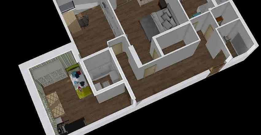 Nikulinskaya 1.2.0 Interior Design Render