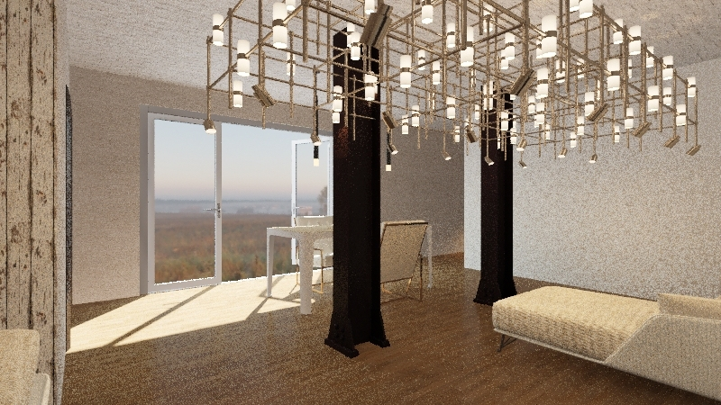 The Office/House Interior Design Render