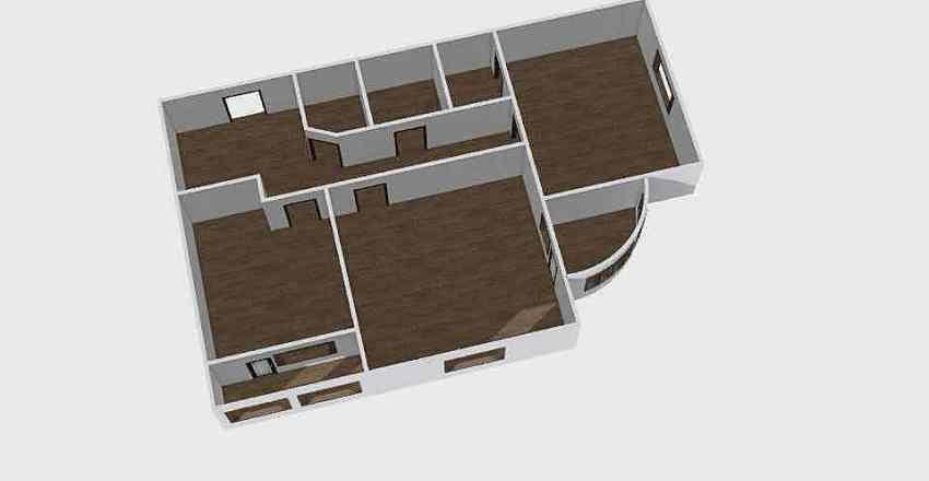 2-комн_0311 Interior Design Render