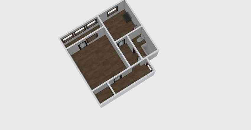 1-комн_0325 Interior Design Render