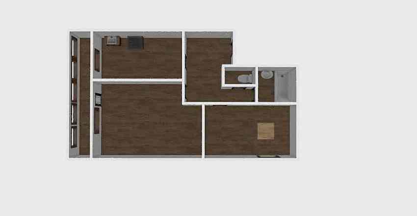 2-комн_0310 Interior Design Render
