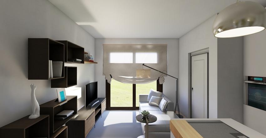Amanti della natura Interior Design Render