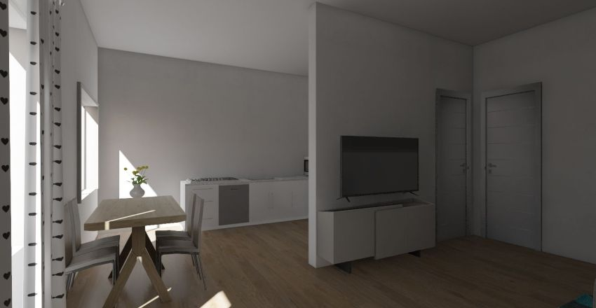 casa rafael Interior Design Render