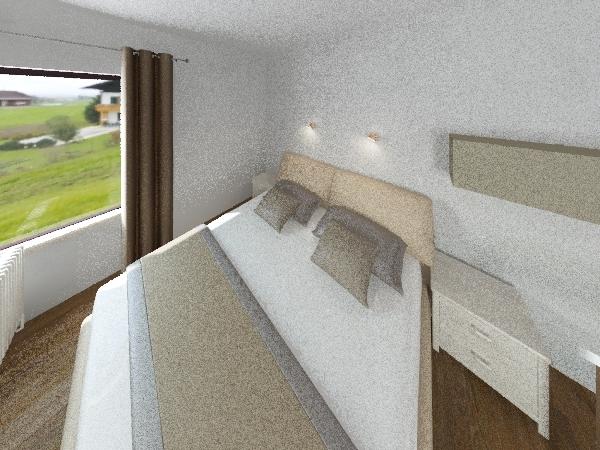 моя первая комната( хоть и корявая ) Interior Design Render