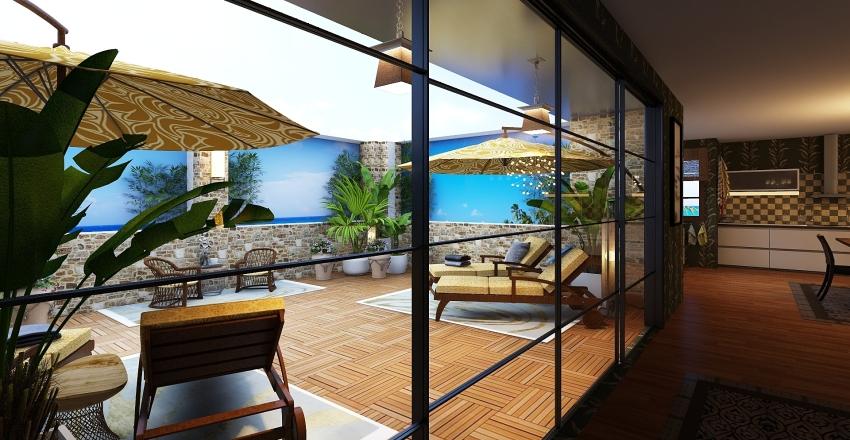 Bungalow Interior Design Render
