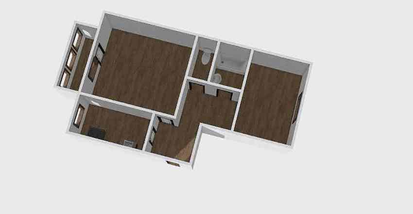 2-комн_0114_1 Interior Design Render