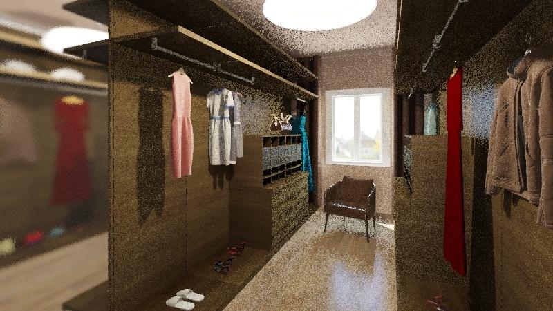 Sypialnia rodzicow Interior Design Render