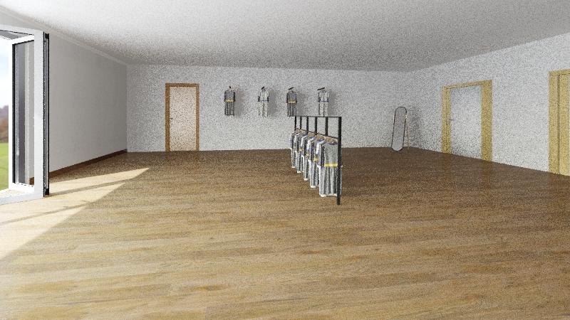 tienda de bordado Interior Design Render