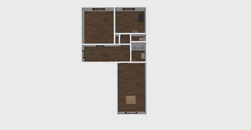2-комн_0309 Interior Design Render