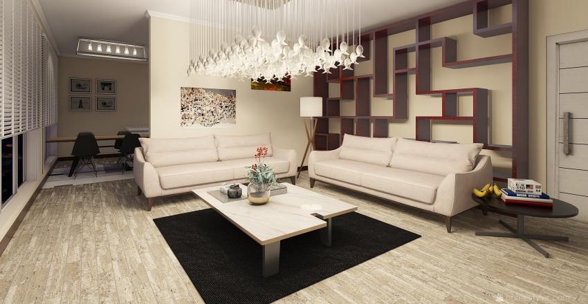 UFAK TEFEK EV Interior Design Render
