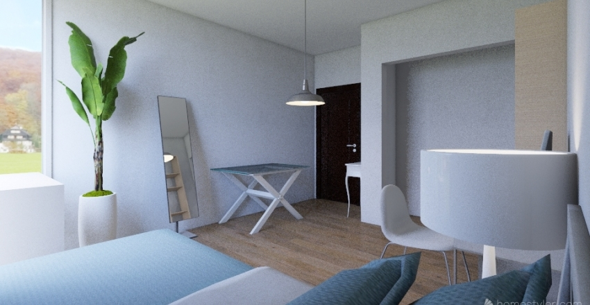 Mi cuarto  Interior Design Render