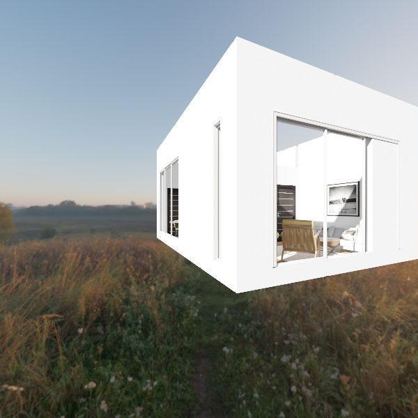 Garage + Studio Design Interior Design Render
