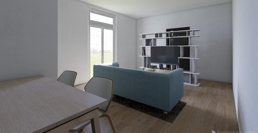 apt Interior Design Render