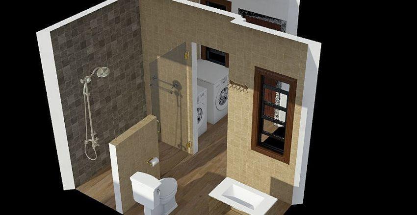 797E bathroom Interior Design Render