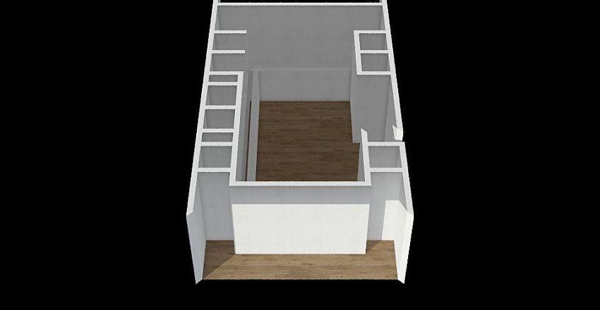Courtyard House Plan : Author - Douglas Kagoro Interior Design Render