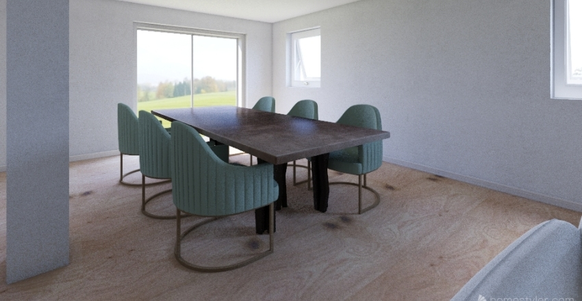 Primo Piano DEF Interior Design Render