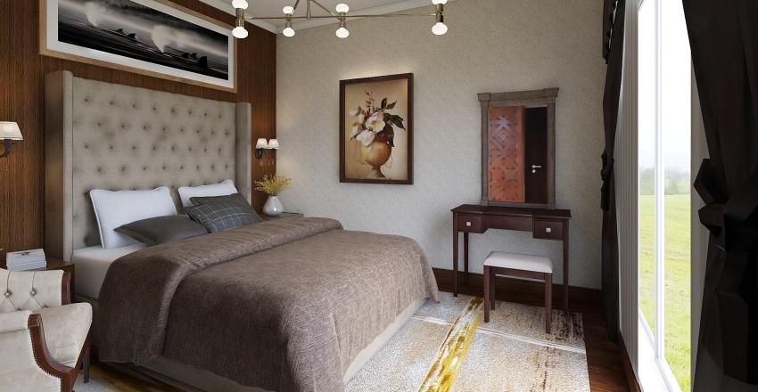 Simple Bedroom Design Interior Design Render