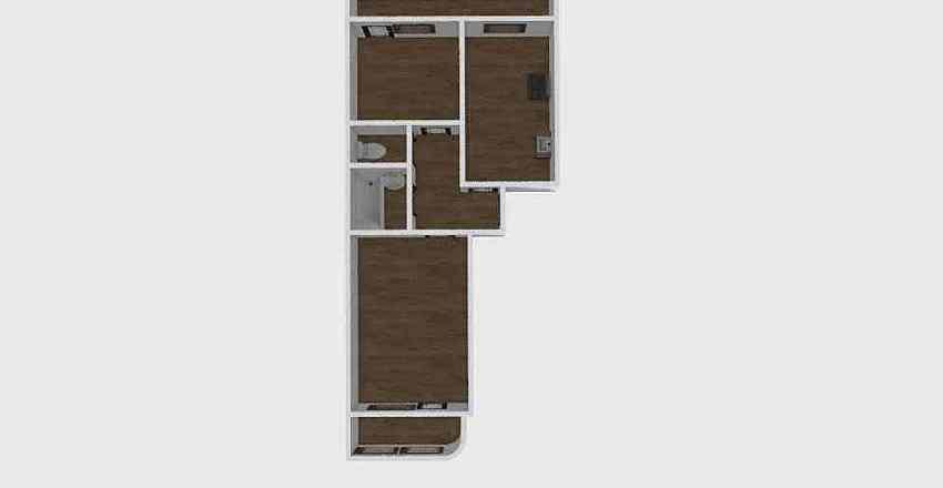 2-комн_0312 Interior Design Render