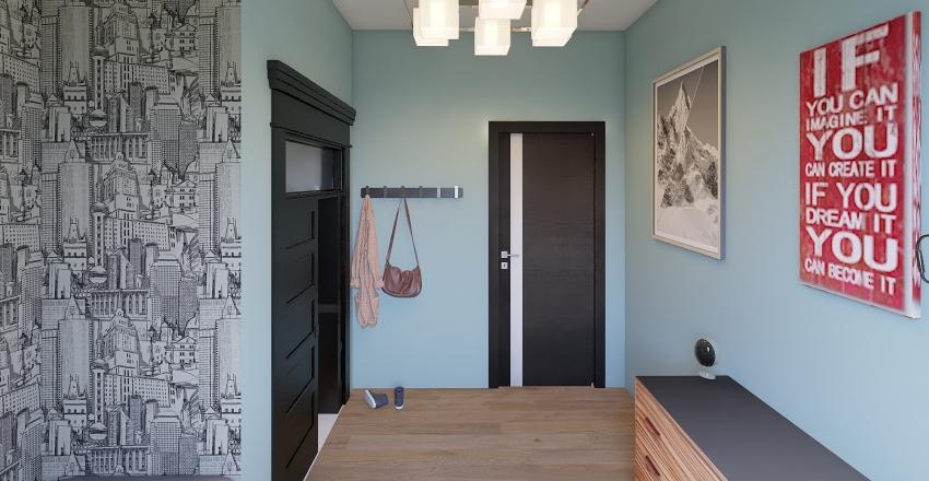 Madelyn Dorm Interior Design Render