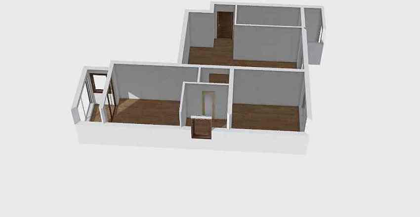crime scene Interior Design Render