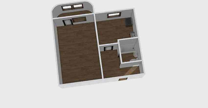 1-комн_0327 Interior Design Render