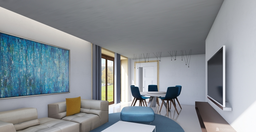 mangano Interior Design Render