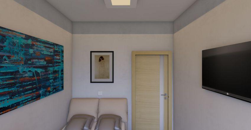 20ft Hotel Room Interior Design Render