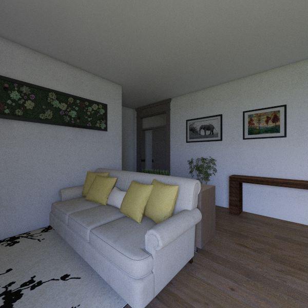 Small House! Interior Design Render