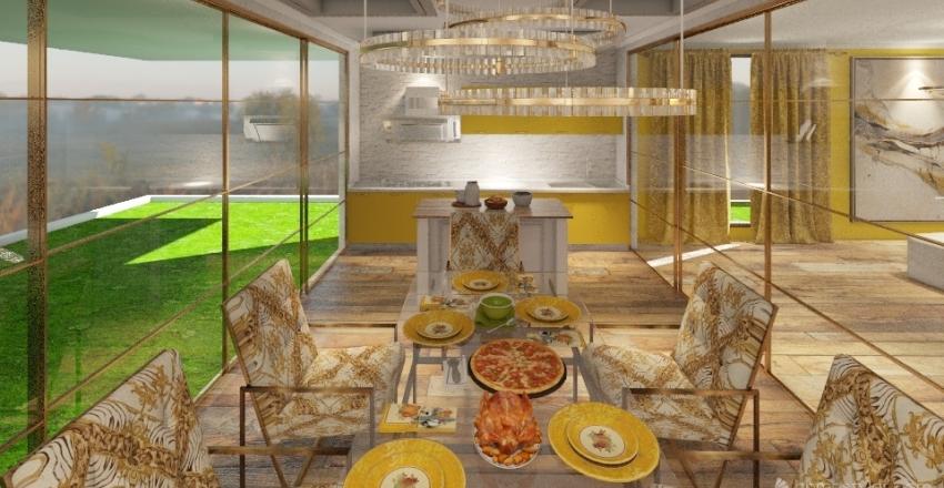 CAMPING Interior Design Render