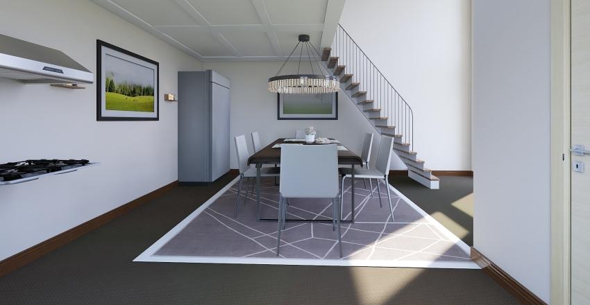 Family Interior Design Render