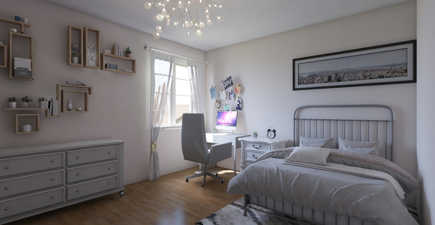 A room Interior Design Render