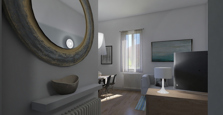 via Piombino Interior Design Render