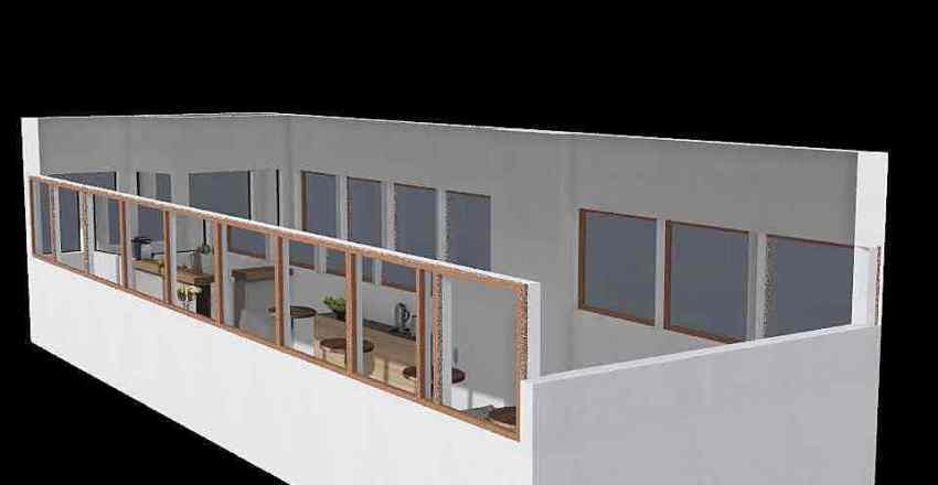 tramway Interior Design Render
