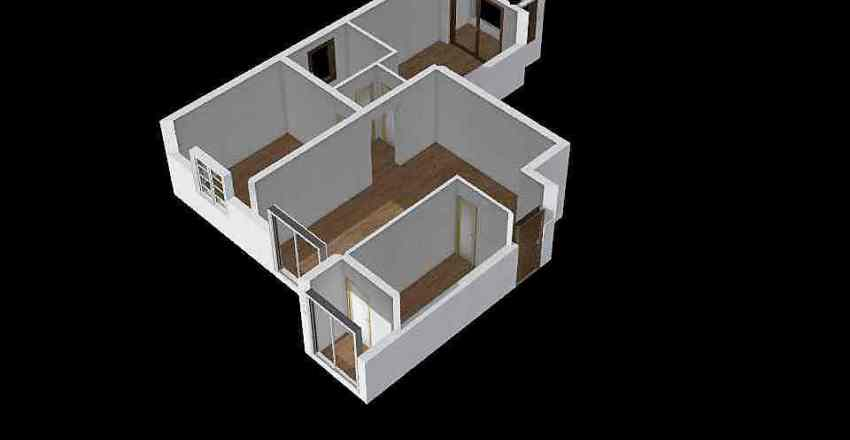 crime scene eva  Interior Design Render