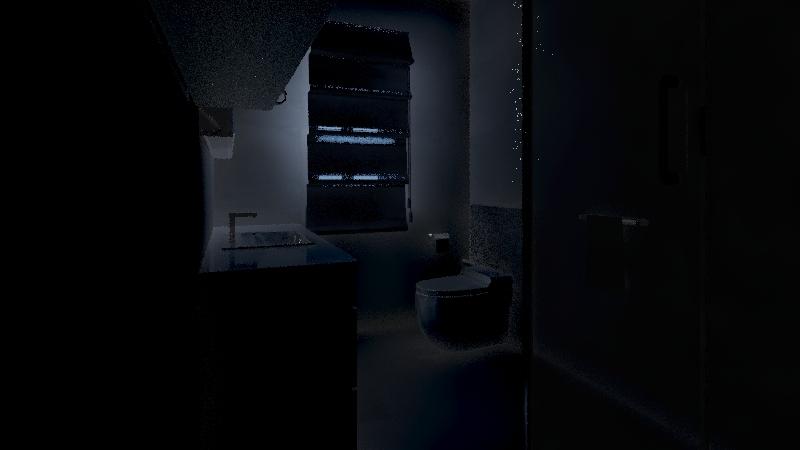 Rysiu łazienka Interior Design Render